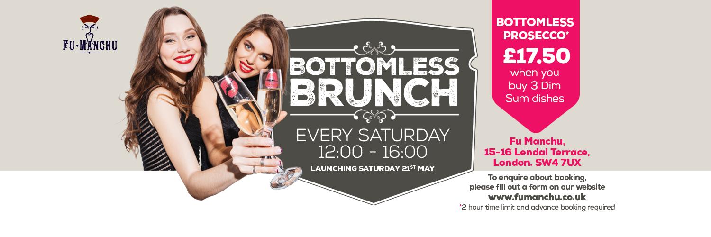 Saturday Bottomless Brunch!